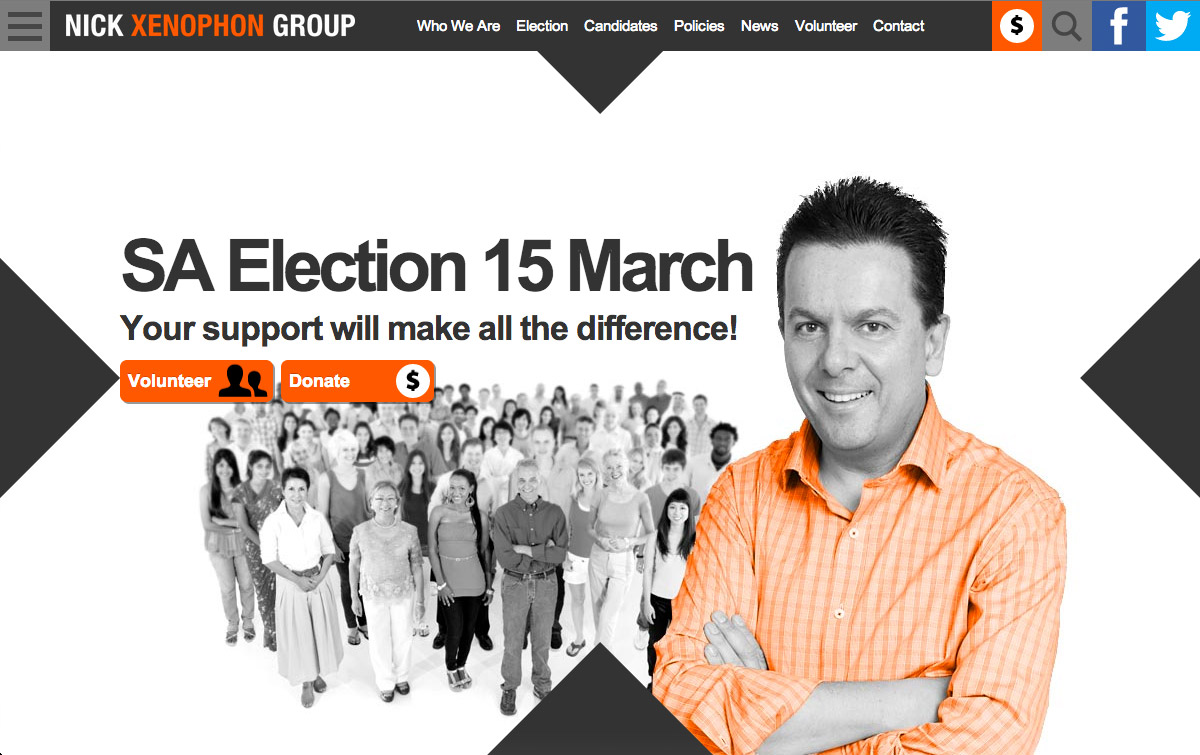 Nick Xenophon Group - Homepage